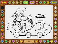 Coloring Book 5: Alphabet Train
